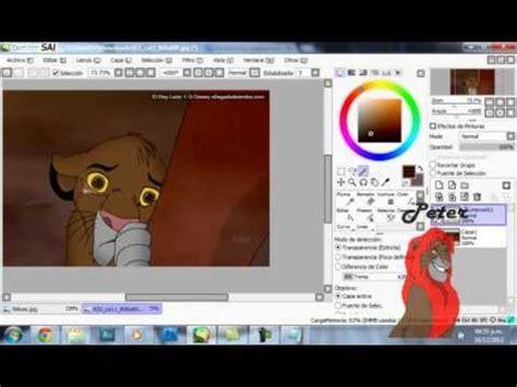 re paint tool sai como re colorear una imagen en paint tool sai