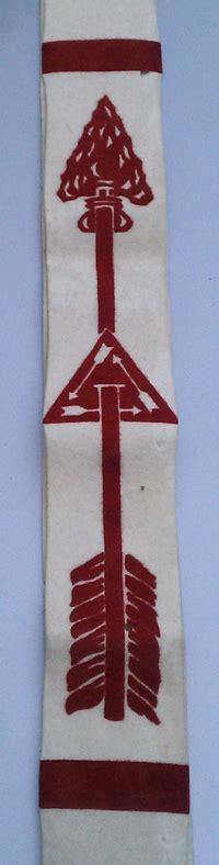 beaded oa sash mitch reis boy scout memorabilia order of the arrow