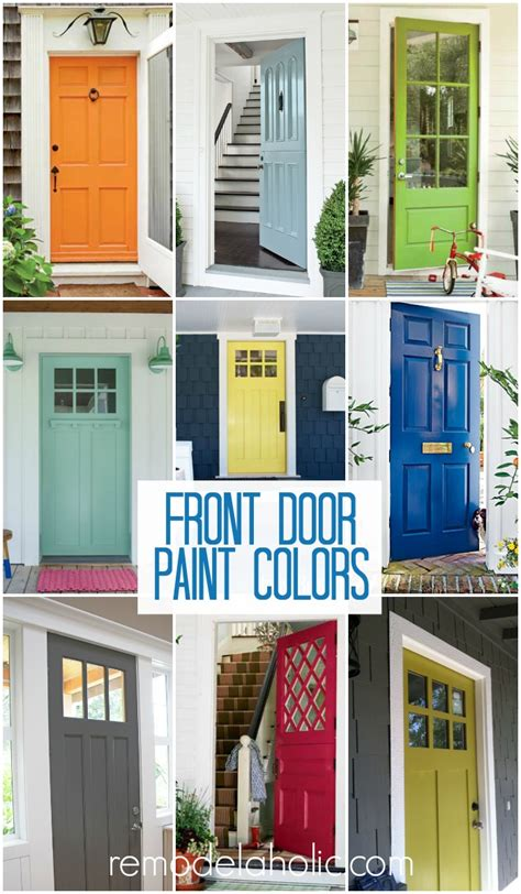 colors to paint front door remodelaholic how to add a glass pane to a wood door