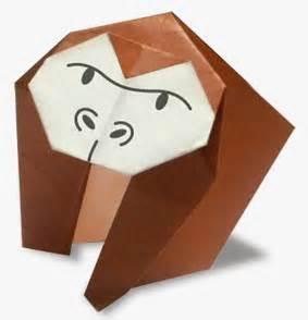 origami gorilla gorilla easy origami for