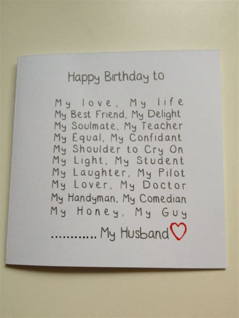 card ideas for husband husband birthday card diy handmade husband birthday card