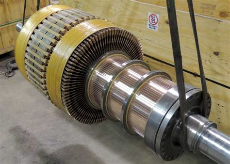 Electric Motor Armature by Armature And Stator Rewind Illiana Industrial