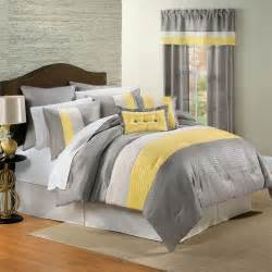 bed covers set yellow and gray bedding that will make your bedroom pop
