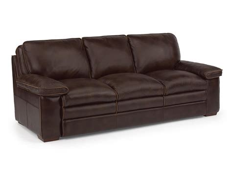 flexsteel leather sofas flexsteel living room leather sofa 1774 31 the sofa store towson glen burnie and baltimore md