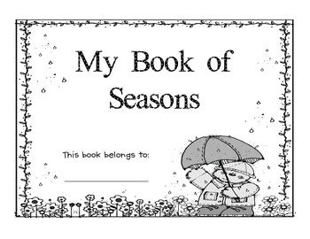 my picture book ca 21 best images about four seasons unit study on