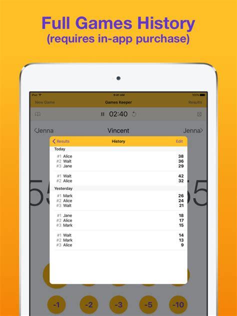 best scrabble app keeper board score tracker screenshot