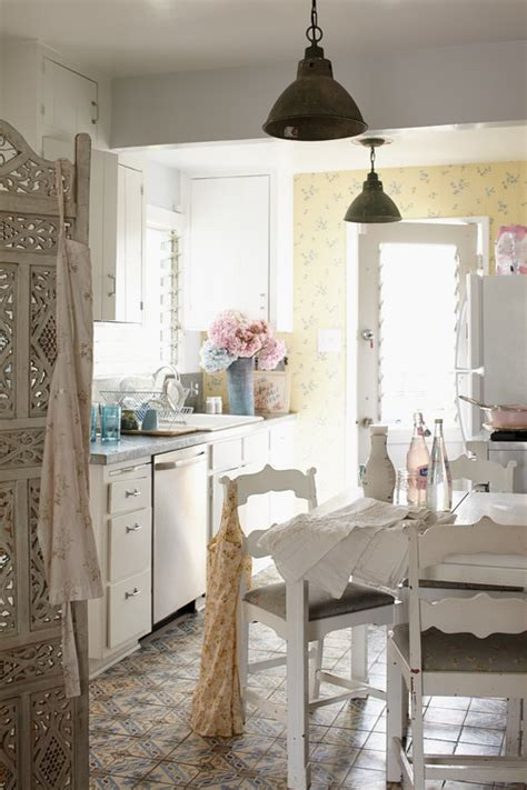 shabby chic kitchen wallpaper kitchen wallpaper is it for you town country living