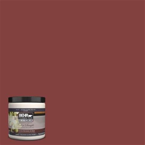 home depot brick paint colors behr premium plus ultra 8 oz s h 170 brick interior