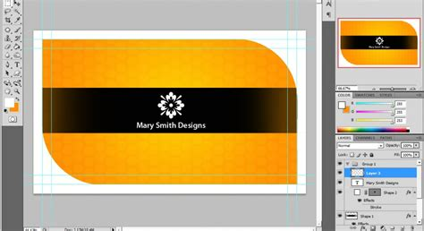 how to make a card in photoshop a cool photoshop business card tutorial for print ready cards