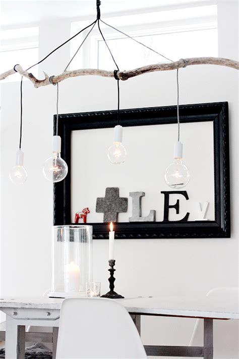 Branch Light Fixture by 6x De Leukste Manieren Om Zelf Een Hanglamp Te Maken Roomed