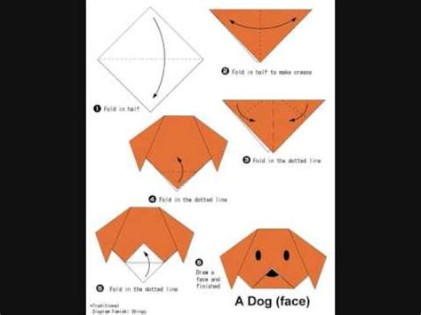 how to make origami dogs how to make an origami