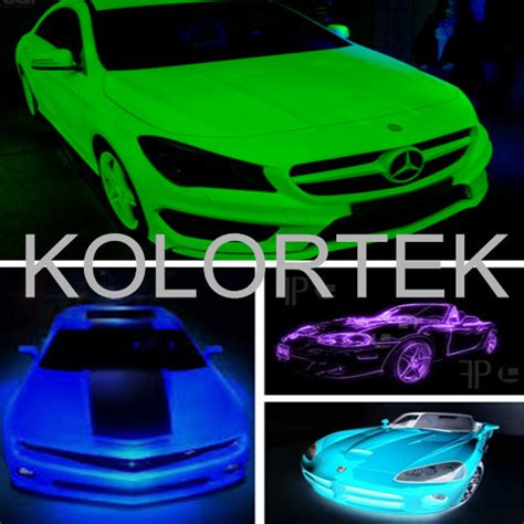 glow in the auto paint powder glow in the car paint pigment glow phosphor