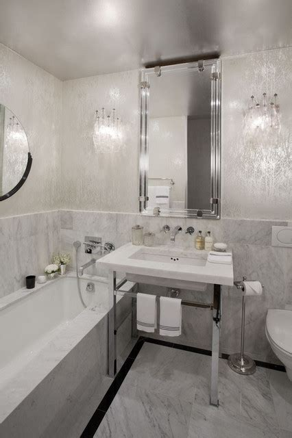 modern wallpaper bathroom unique wallpaper ideas apartment new york 5 jpg