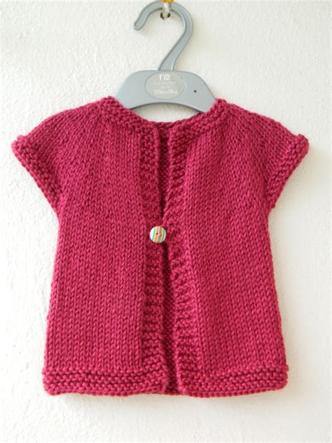 one cardigan knitting pattern handmade by knottygal one baby sweater