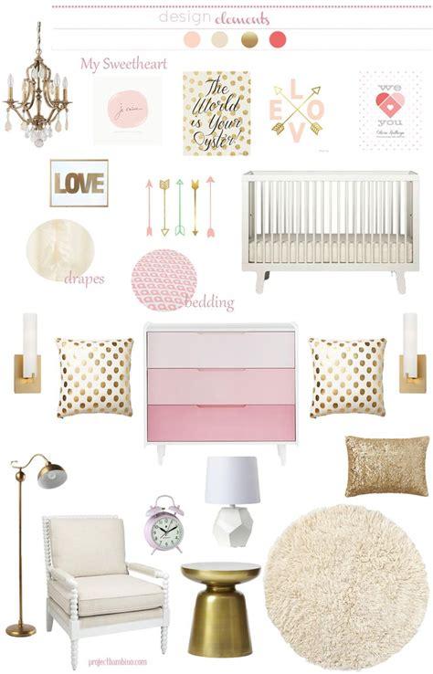 gold nursery decor 17 best ideas about pink gold nursery on pink