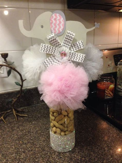 elephant themed baby shower centerpieces baby shower elephant themed centerpiece baby shower