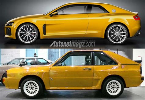 New Audi Quattro by New Audi Sport Quattro Concept And Quattro