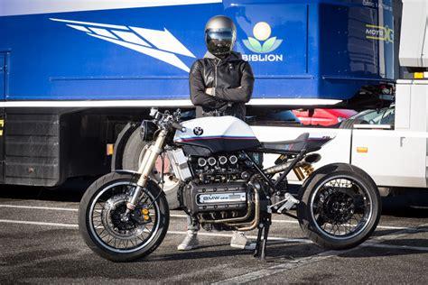 Bmw K1100lt by Bmw K1100 Cafe Racer By De Angelis Elaborazioni Bikebound