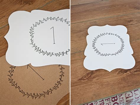 number templates for card free printables wedding table numbers www