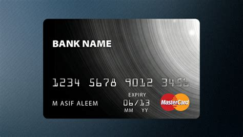 make a free credit card 15 free vector psd credit card designs