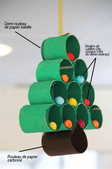 que faire avec des rouleaux de papier toilette pour noel survl