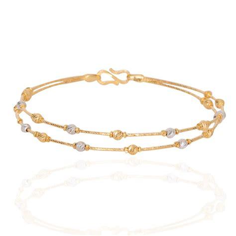 bracelet with oriana the light weight jewellery duo tone slim gold