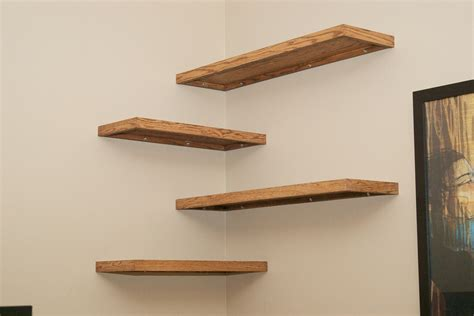 wood plank shelves simple and stylish diy floating shelves for your home