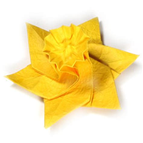 origami daffodil how to make an origami daffodil flower page 26