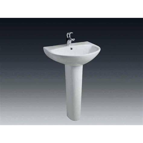 lavabo pour colonne en c 233 ramique blanc nerea leroy merlin
