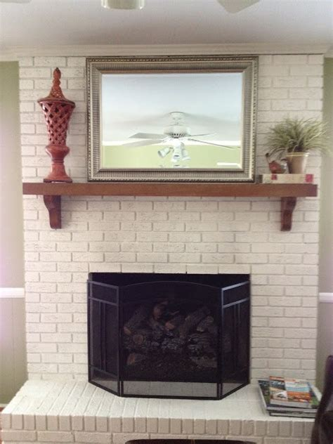 paint colors for fireplace 5 dramatic brick fireplace makeovers diy my homes