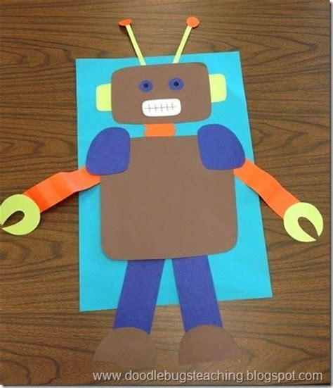 robot crafts for manualidades on 193 pins