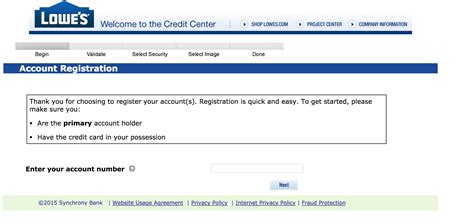 make a lowes credit card payment lowe s credit card login make payment
