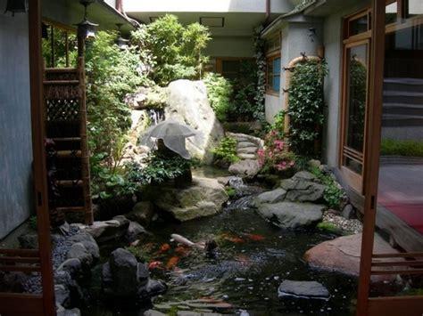 inside garden ideas homes with indoor ponds