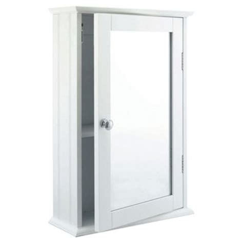 White Tongue And Groove Bathroom Cabinet by Buy Southwold Bathroom Cabinet Single Mirror White Wood
