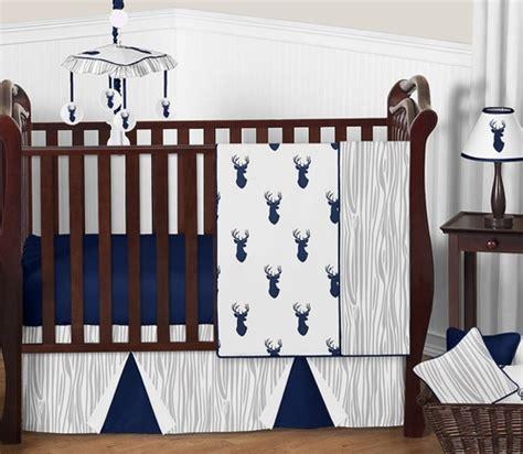 baby boy deer crib bedding woodland deer baby bedding 11pc boys crib set by sweet