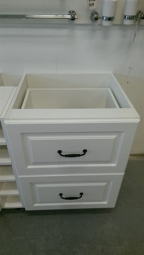 provincial kitchen cabinet base cabinet 2 drawers 600