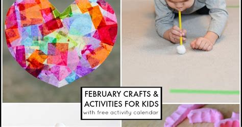 february crafts for 29 february activities for free activity calendar