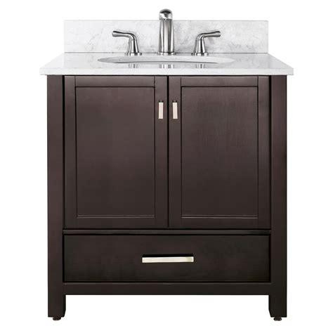 36 Bathroom Vanity Cabinet 36 Quot Modero Bathroom Vanity Espresso Bathroom Vanities Bath Kitchen And Beyond