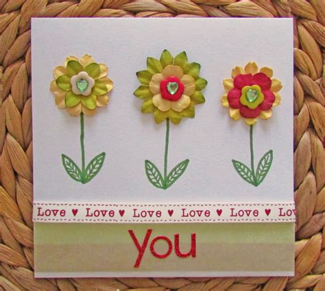 how to make green card craft challenge valentines card hobbycraft