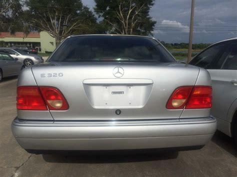 1999 Mercedes E 320 by 1999 Mercedes E320 The Car Bar