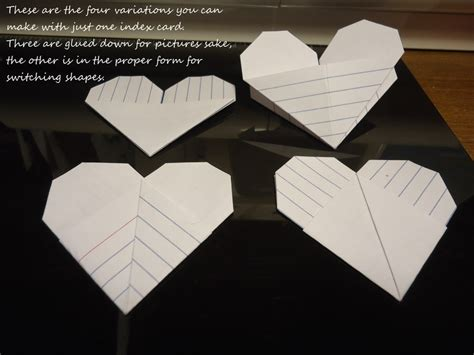 what to make out of index cards origami index card 183 how to fold an origami shape