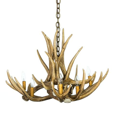 faux deer antler chandelier antler chandelier d6 faux antler chandelier rustic lighting