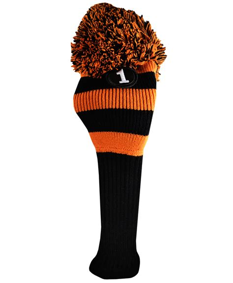 knit golf headcovers cook pom pom knit driver cover by cook golf