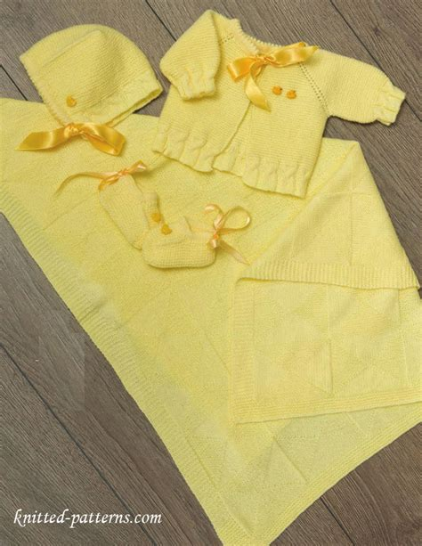 baby layette knitting patterns free newborn layette knitting patterns free