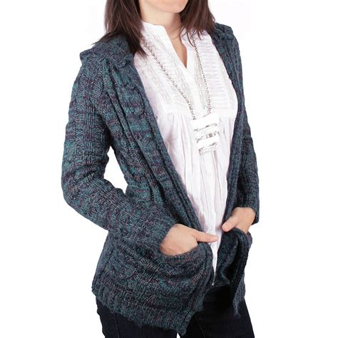 cable knit hooded cardigan ethyl cable knit cardigan sweater hooded for