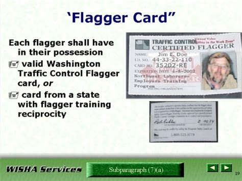 card course flagger card