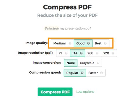 compress pdf compress pdf files to below 100kb
