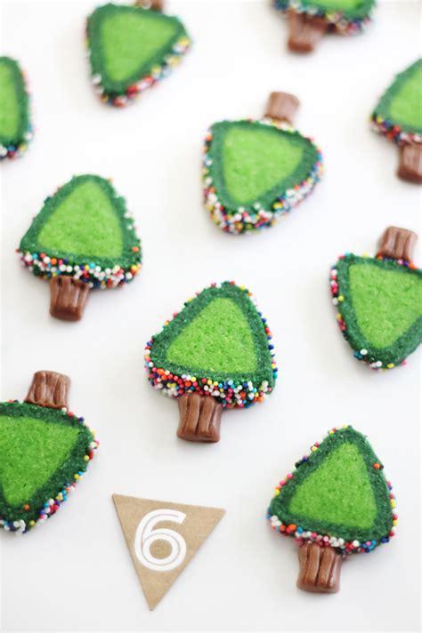 tree cookie sprinkle tree cookies sprinkle bakes