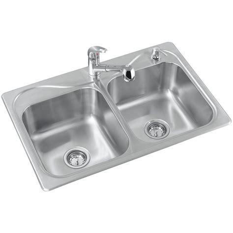 basin sink kitchen sterling r11402 2pc na southhaven basin kitchen