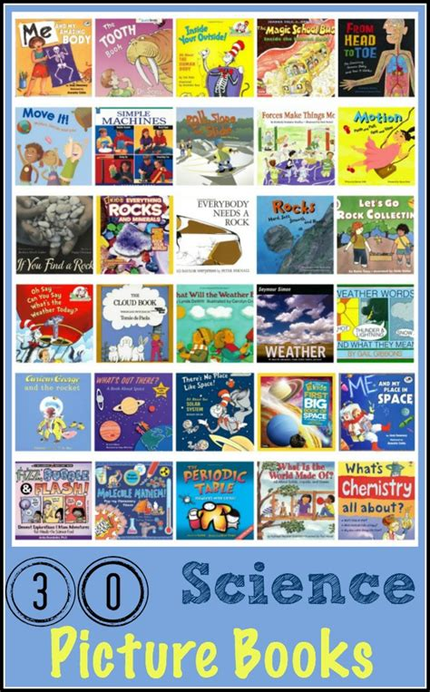 science picture books 30 great science picture books